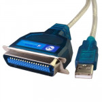 USB 2.0 to IEEE1284 Cable, Length: 1.5m