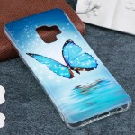 For Samsung Galaxy S9 Noctilucent Butterfly Pattern TPU Soft Back Case Protective Cover, Small Quantity Recommended Before Samsu