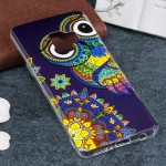 For Samsung Galaxy S9 Noctilucent Ethnic Owl Pattern TPU Soft Back Case Protective Cover, Small Quantity Recommended Before Sams