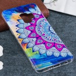 For Samsung Galaxy S9 Noctilucent Flower Pattern TPU Soft Back Case Protective Cover, Small Quantity Recommended Before Samsung