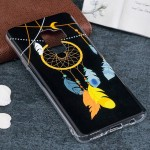 For Samsung Galaxy S9+ Noctilucent Wind Chimes Pattern TPU Soft Back Case Protective Cover, Small Quantity Recommended Before Sa