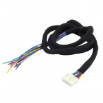 Universal Car Radio Stereo Ampplified DSP Extension Cable Wiring Harness, Cable Length: 1.5m