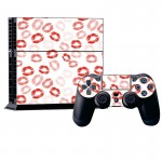 Lip Pattern Decal Stickers for PS4 Game Console