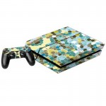 Splicing Pattern Decal Stickers for PS4 Game Console