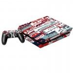Signature Pattern Decal Stickers for PS4 Game Console