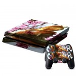 Pour PS4 Playstation 4 Console de jeux Snake Pattern Decal Stickers - Wewoo