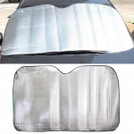 Silver Aluminum Foil Sun Shade Car Windshield Visor Cover Block Front Window Sunshade UV Protect, Size: 220*80cm