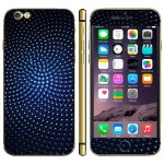 Bubble Pattern Mobile Phone Decal Stickers for iPhone 6 Plus & 6S Plus