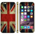 UK Flag Pattern Mobile Phone Decal Stickers for iPhone 6 Plus & 6S Plus
