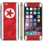 North Flag Pattern Mobile Phone Decal Stickers for iPhone 6 Plus & 6S Plus
