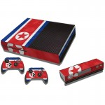 North Flag Pattern Decal Stickers for Xbox One Game Console