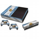 Argentine Flag Pattern Decal Stickers for Xbox One Game Console