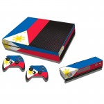 Philippine Flag Pattern Decal Stickers for Xbox One Game Console