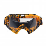 Motorcycle Parts Goggles Ski Goggles Outdoor Windproof Glasses(Transparent)