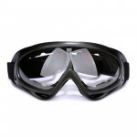 Motorcycle Parts Goggles Anti-UV Goggles Outdoor Windproof Glasses(Transparent)