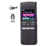 VM202 Professional 8GB LCD Digital Voice Recorder with VOR MP3 Player(Black)
