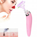 5W 1A Multi-function Blackhead Extractor Pore Cleanser with Four Probes (Pink)