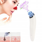 5W 1A Multi-function Blackhead Extractor Pore Cleanser with Four Probes (White)