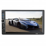 7018B 7.0 inch HD Touch Screen Dual DIN Car Radio Bluetooth Stereo MP3 / MP4 / MP5 Player with Remote Control, Support FM / TF