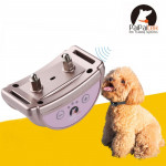PD258 Automatic Anti Barking Collar Pet Training Control System for Dogs, S Size(Rose Gold)