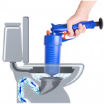 Kitchen Toilet High Pressure Drain Pipes Sinks Air Power Blaster Cleaner Plunger Clog Remover