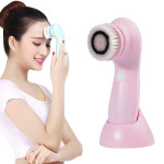 1.2W USB Charging Electronic Cleaning Face Beauty Instrument Pores Nose Blackhead Facial Cleansing Brush(Pink)