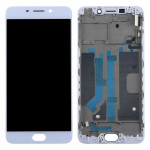 iPartsBuy OPPO R9 LCD Screen (TFT)+ Touch Screen with Frame(White)