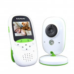 VB602 2.4 inch LCD 2.4GHz Wireless Surveillance Camera Baby Monitor, Support Two Way Talk Back, Night Vision(White)
