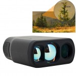 Golf Waterproof Handheld Rangefinder Telescope Monocular, Measurement Range: 5-600m