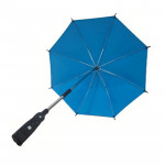 Adjustable Umbrella For Golf Carts, Baby Strollers/Prams And Wheelchairs To Provide Protection From Rain And The Sun(Blue)
