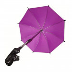 Adjustable Umbrella For Golf Carts, Baby Strollers/Prams And Wheelchairs To Provide Protection From Rain And The Sun(Purple)