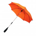 Adjustable Umbrella For Golf Carts, Baby Strollers/Prams And Wheelchairs To Provide Protection From Rain And The Sun(Orange)