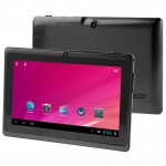 Tablette Tactile noir 7 pouces, 512 Mo + 8 Go, Android 4.0, Allwinner A33 Quad Core 1,5 GHz - Wewoo