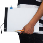 5W 5V LED Three Level of Brightness Dimmable A4 Acrylic Copy Boards Anime Sketch Drawing Sketchpad