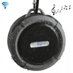 C6 Outdoor Waterproof Bluetooth Speaker, Supporting Handsfree / Suction(Grey)