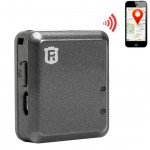 RF-V8 Car Real Time GSM Mini GPS Tracker GPRS Tracking SOS Communicator(Black)
