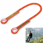 Safety Outdoor Rock Climbing Rappelling Mountaineering Fall Protection Rope, Length: 120cm