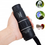 MaiFeng 16 x 52 Monocular Telescope Dual Focus Green Film Hunting Low Light Level Night Vision Binoculars