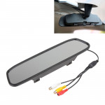 PZ-705 4.3 inch TFT LCD Car Rear View Mirror Monitor for Car Rearview Parking Video Systems