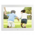 12.1 Inch 800 x 600 / 4:3 CCFL Screen Suspensibility Digital Photo Frame with Holder & Remote Control, Support SD / MicroSD / MM