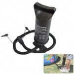 Air Pump, Double Action Push Pull Pump for Swimming Ring, Air Cushion, Inflatable Toys, Random Color Delivery