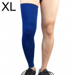 Professional Outdoor Sports Basketball Football Knee Pads Warm Compression Leg Protectors(Blue Size: XL)