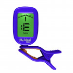 Guitar Tuner Clip on-Accurate Chromatic, Acoustic Guitar Bass Banjo Violin Ukulele Tuner(Blue)