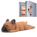 Home Decoration Lovely Rrunk on Sleep French Bulldog 3D Fridge Paste, NO Magnetic