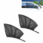 2 PCS Car Front Window Net Yarn Sunscreen Insulation Window Sunshade Cover Auto Accessories, Size: about 120*70cm