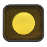 Snap-on Yellow Color Lens Filter for GoPro HERO6 /5(Yellow)