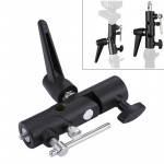 H Type Multifunctional Flash Light Stand Umbrella Bracket, Max Load: 3kg