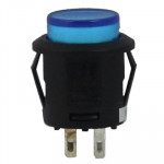 Blue Light Push Button Switch for Racing Sport (Vehicle DIY), Blue