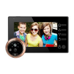M4300D 4.3 inch TFT Color Display Screen 3.0MP Security Camera Video Smart Doorbell, Support TF Card (32GB Max) & Night Vision &