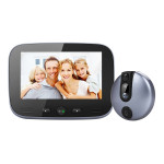 M100 4.3 inch Display Screen 2.0MP Security Camera Video Smart Doorbell, Support TF Card (32GB Max) & Night Vision & Motion Dete
